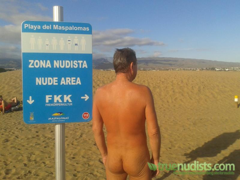 Nude maspalomas