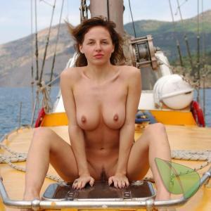 A nudists outdoors