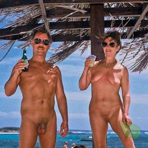 One naturist out and about