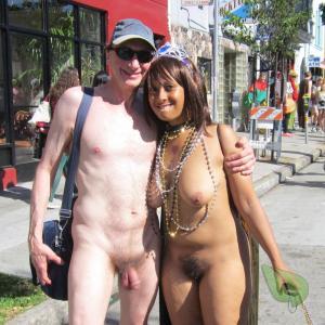 One nudey