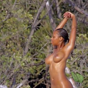 Solo female in nature