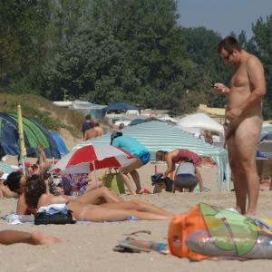 a bunch of nudists in the wilderness