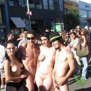 some nude people in the wilderness