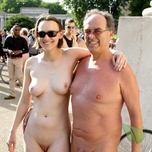 One nudists
