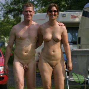 A nudist at the campground