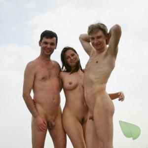 some naturist in the woods