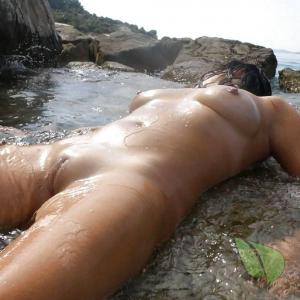 Solo girl in nature