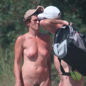 A naturist in the wilderness