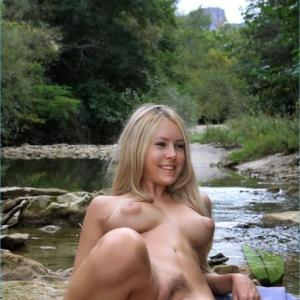 One nudists in nature