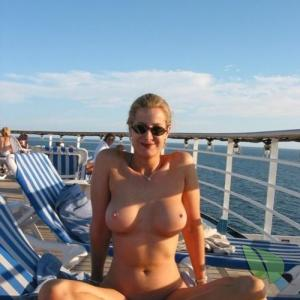 Solo woman outdoors