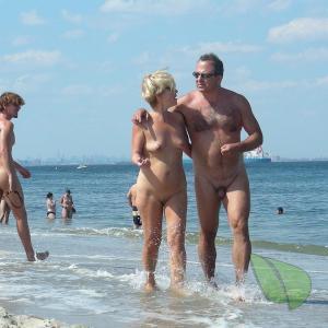Skinny dip nudist