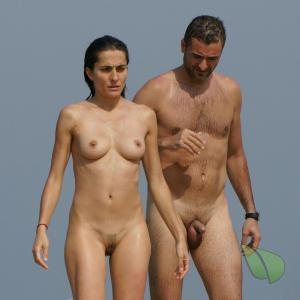 One nudists in the wilderness