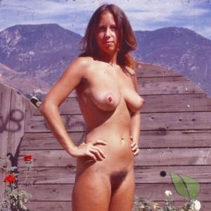 Solo lady outside