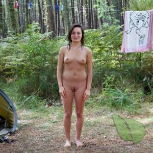 One female at the campground