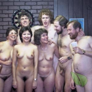 a group of nudists