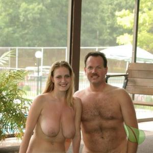 A naturist in their home