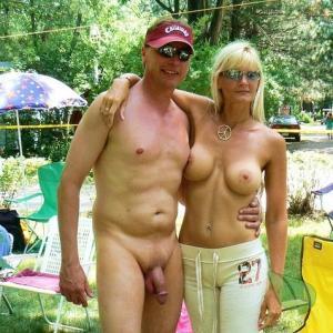 Solo naturist camping