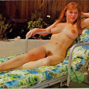Solo nudists outside