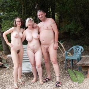 some nudist in nature
