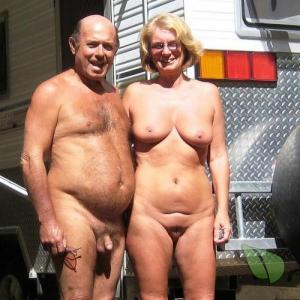 A naturist camping