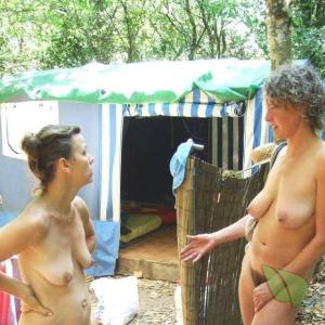 One woman at the campground