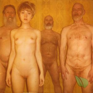 a group of nudist
