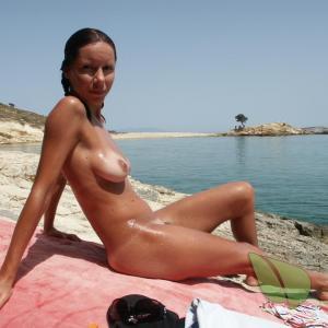 Solo nudists outside