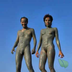 A naturist outdoors