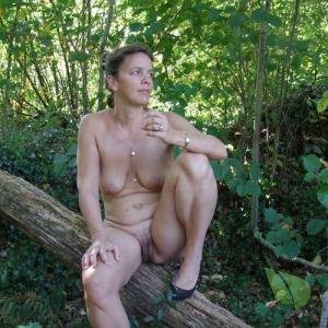 Solo female in nature