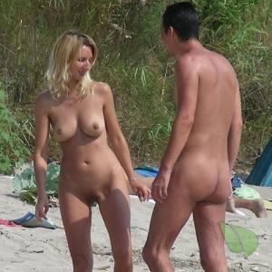 One nude friends out and about