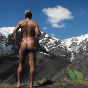 Solo male outdoors