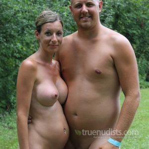A nude friends in the woods