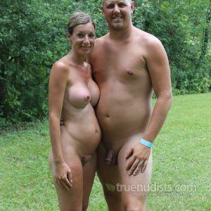 One nude friends in nature